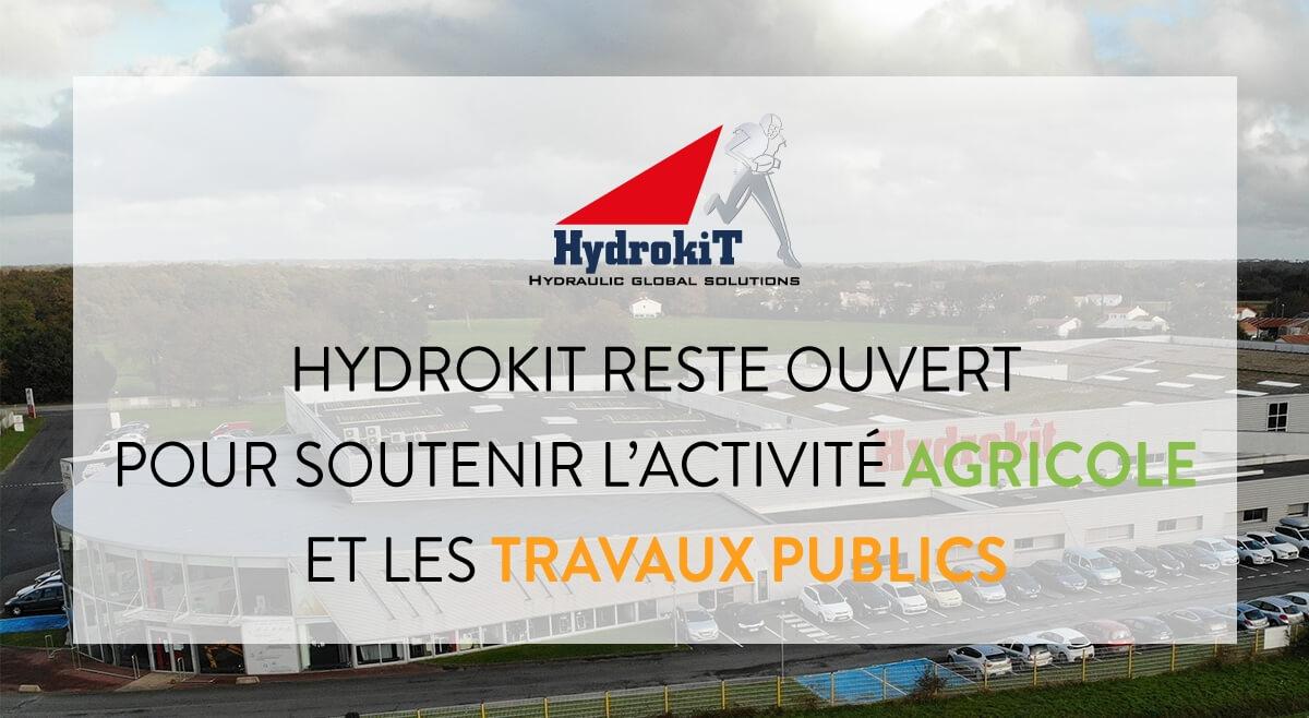 Hydrokit reste ouvert
