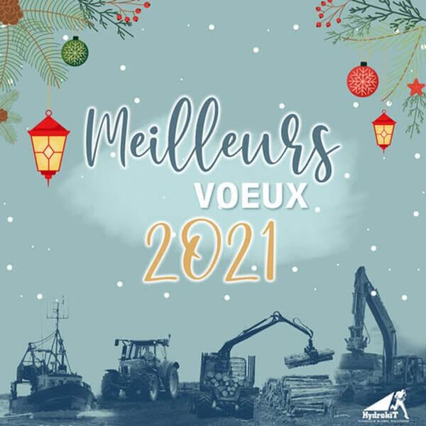 Hydrokit vous souhaite une bonne année 2021