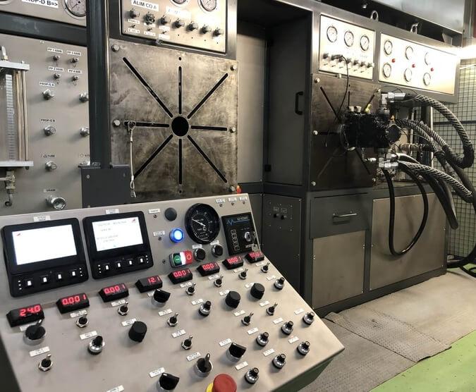 Un nouveau banc d'essai pour le service réparation pompes