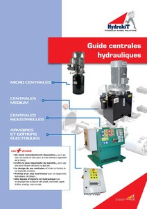 Guides centrales hydrauliques Hydrokit