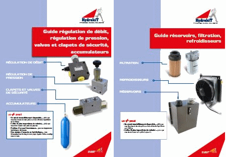 Guide régulation et guide filtration Hydrokit