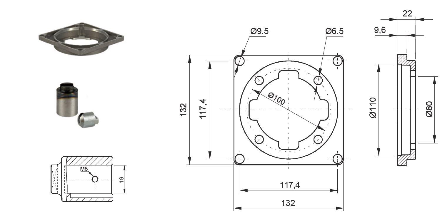 couplage ppc moteur dc  u00d880  pompe