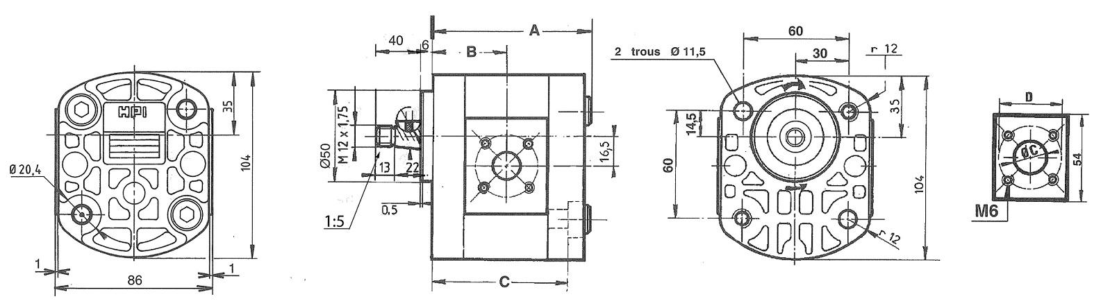 Plan technique