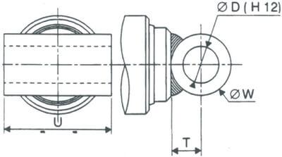 Schéma tube transversal hydraulique