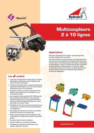 Afficher le guide Multicoupleurs hydrauliques