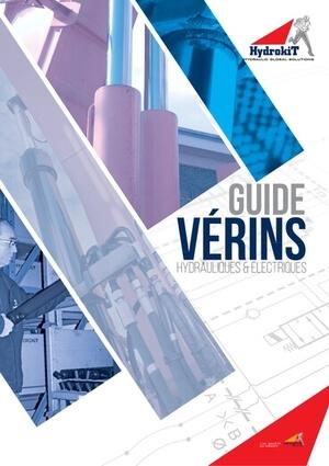 Catalogue Vérins hydrauliques et électriques