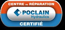 Hydrokit est certifié Centre de réparation Poclain Hydraulics