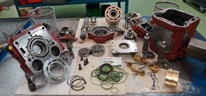 Hydrokit a les compétences pour réparer votre pompe ou moteur à pistons hydraulique Linde