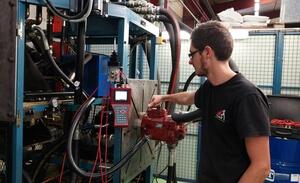 Hydrokit assure et contrôle votre pompe ou moteur hydraulique Linde