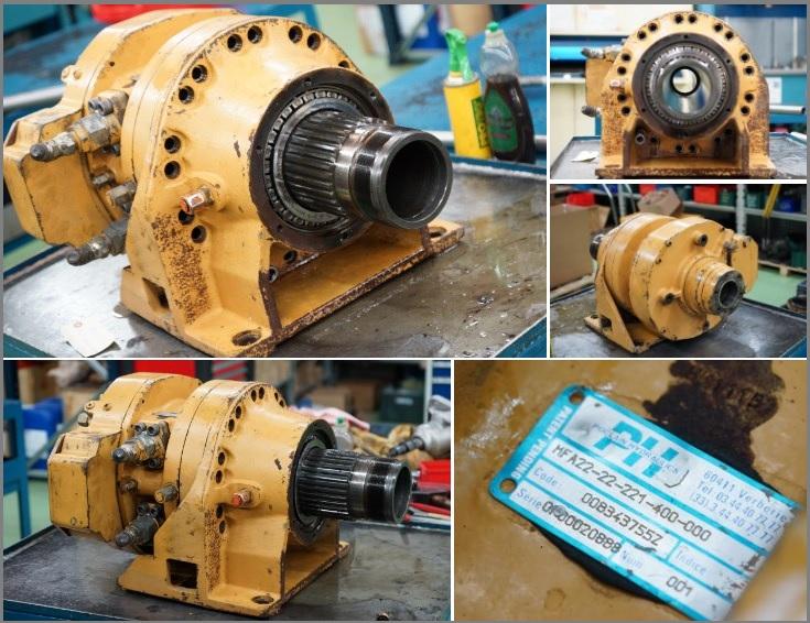 Réparation Moteur poclain hydraulics MFA22 - MFA44