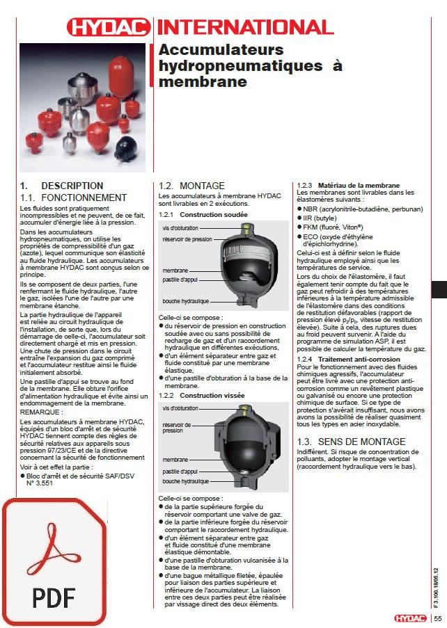 catalogue accumulateur SBO