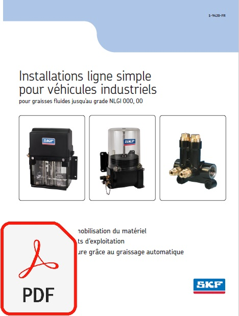 catalogue lubrification simple ligne