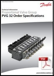 order specifications PVG32