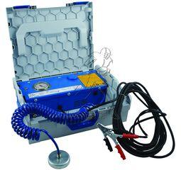 pompe vide hydrovide lectrique 12 volts valise taille l. Black Bedroom Furniture Sets. Home Design Ideas