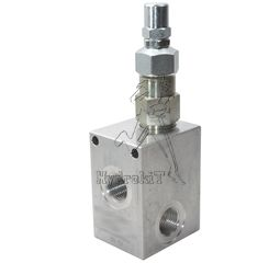 Limiteur de pression hydraulique simple 1 2 10 150 bar - Limiteur de pression d eau ...