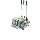 Manual stackable spool valves