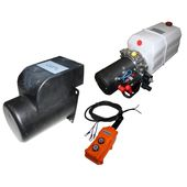 Tipping trailer hydraulic power packs