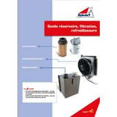 Reservoir, filtration and heat exchanger guide