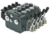 Spool valves for front loaders