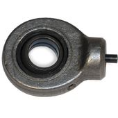 Round industrial ball joints