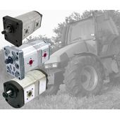 Agricultural tractor pumps