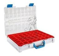 Valise hydroclips T - 440x350x80  + 48 casiers ROUGE